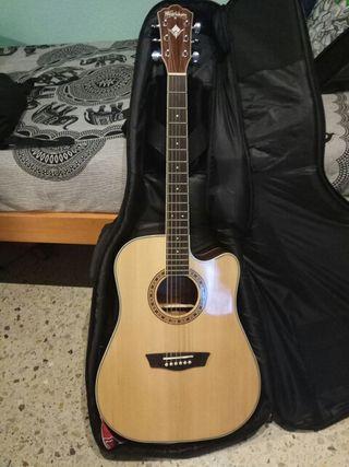 Guitarra Electroacústica Washburn WD10SCE