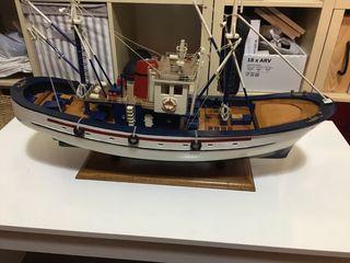 maqueta barco atunero