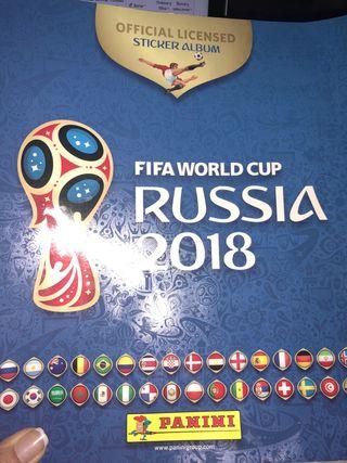 Cromos Mundial Russia