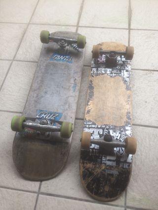 Dos skate