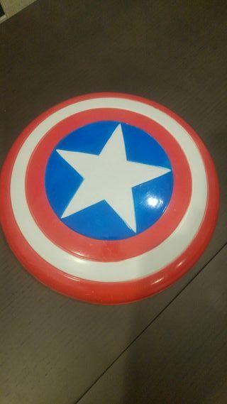 Escudo de Capitán América para disfraz de niño