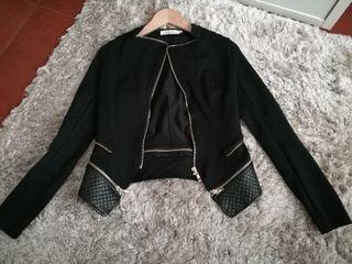 chaqueta talla S negra
