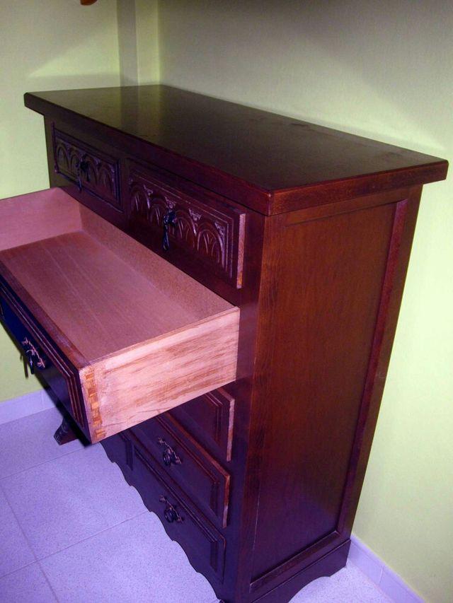 Mueble cajonera madera maciza de segunda mano por 240 en - Segunda mano muebles girona ...