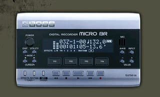 Grabador digital portatil BOSS micro BR