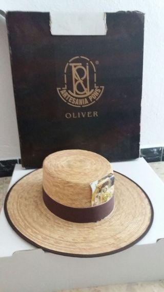 sombrero de panama para el rocío