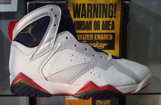 Nike Jordan VII Olympic Original 1992 US 11 OG 7