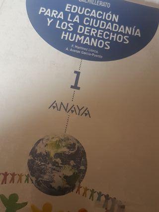 Libro de ciudadania 1 bachillerato