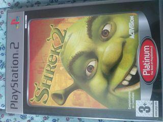 Play Station 2 ps2 videojuego Shrek 2 infantil