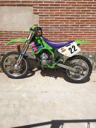 Moto kawasaki kx 250 cambio por enduro o carretera