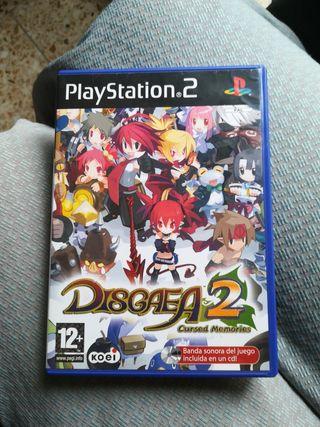 Disgaea 2: Cursed Memories PS2