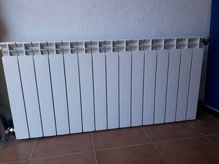 Dos Radiadores calefacción