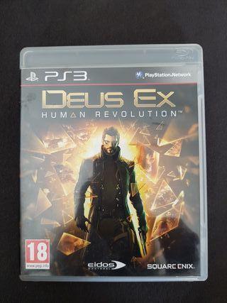 juego ps3 deus ex human revolution