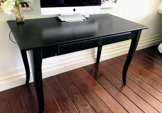 Mesa escritorio negra de segunda mano por 75 en Mungia wallapop