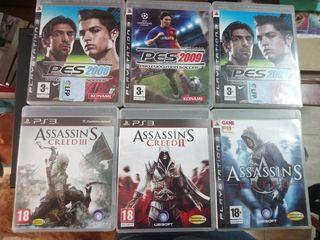 Juegos PLAY 3 y PSP