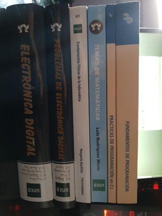 libros uned ing. informatica 1er curso