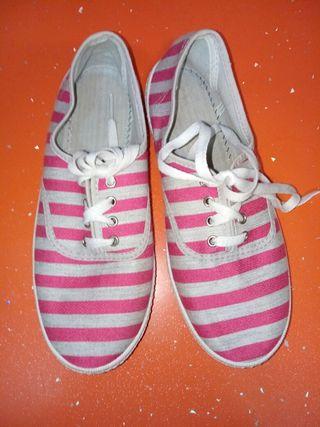 Zapatillas de lona SIN USAR