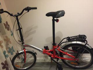 Bicicleta bici plegable Monty F18