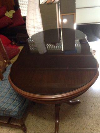 Mesa nueva de comedor y sillas para salón comedor