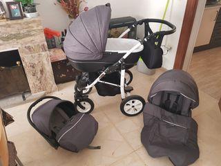 Carro bebé 3 piesas