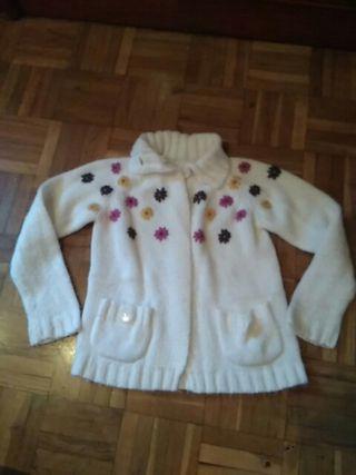 chaqueta lana niña 5-6 años