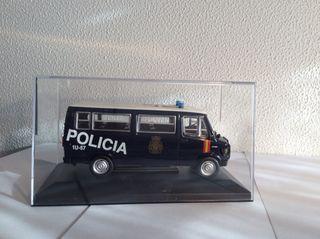 Furgoneta Policia