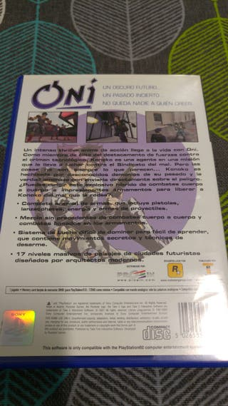 oni ps2 en castellano