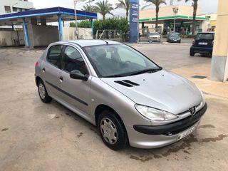 Peugeot 206 2000 1.2 gasolina 60hp