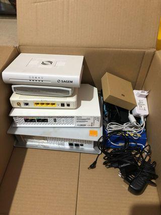 Caja de routers