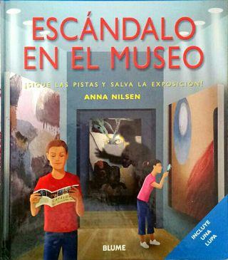 Libros Escandalo en el museo