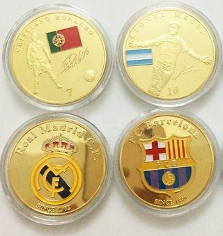 Monedas Messi y CR7 ~ ENVÍO INCLUIDO