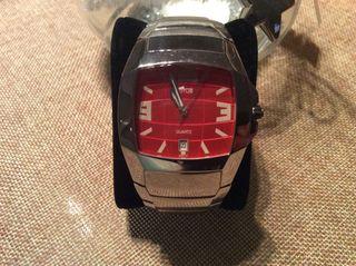 Reloj Lotus esfera roja