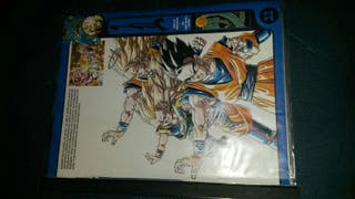 album de cromos de dragon ball
