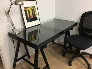 Conjunto escritorio: mesa + silla