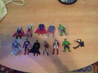 figuras juguetes marvel y dc.