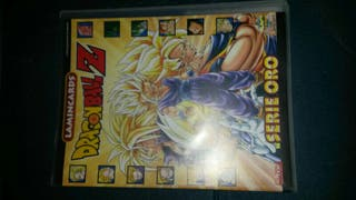 album de cromos de dragon ball serie oro