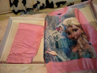 pijama para niña de frozen a estrenar