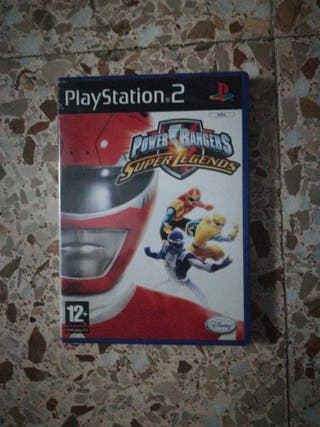 Power Rangers Super Legends PS2