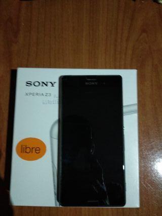 movil SONY Z3 D6603 BLACK