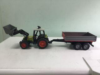Tractor con remolque de Bruder