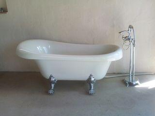 Bañera estilo retro