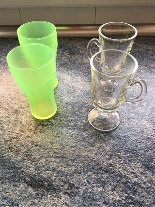 Cuatro vasos