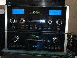 Previo McIntosh C2300 i MCD500