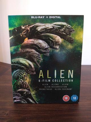 Pack películas alien bluray