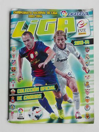 Álbum Oficial De La LFP Temporada 2013-14 (Panini) segunda mano  España