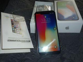 Nouveau Apple iphone x 256gb en couleur argent