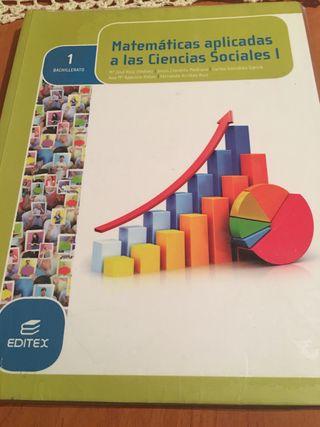 Libro matemáticas 1 bachiller