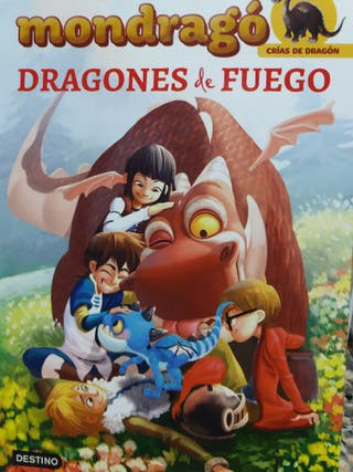 LIBRO DE DRAGONES DE FUEGO