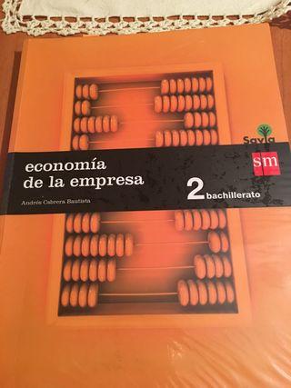 Libro economía 2 bachiller SM