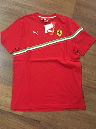 Camoseta Ferrari