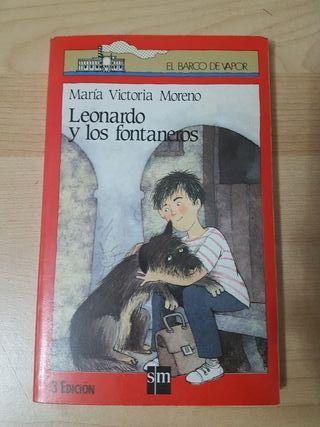 Libro Leonardo y los fontaneros